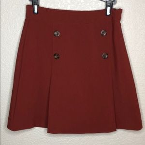 Forever 21 Rust Brown Skirt